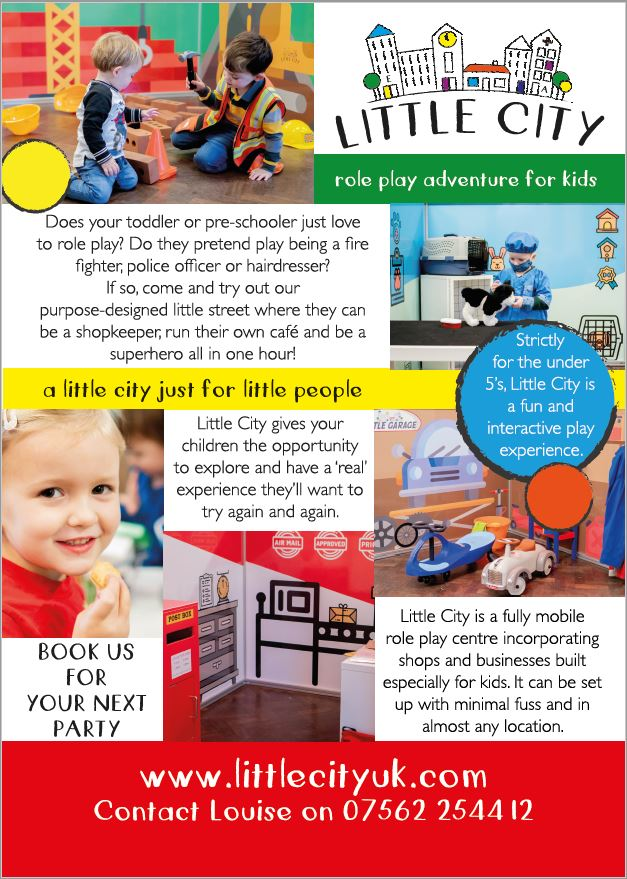 Little City role play for under 5's